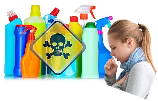 A tisztítószereid jelenleg a legmérgezőbb anyagok közé tartoznak!